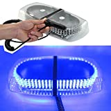 Super luminoso 240LED blu di emergenza del tetto per auto, luce lampeggiante polizia attenzione flash Strobe Light bar