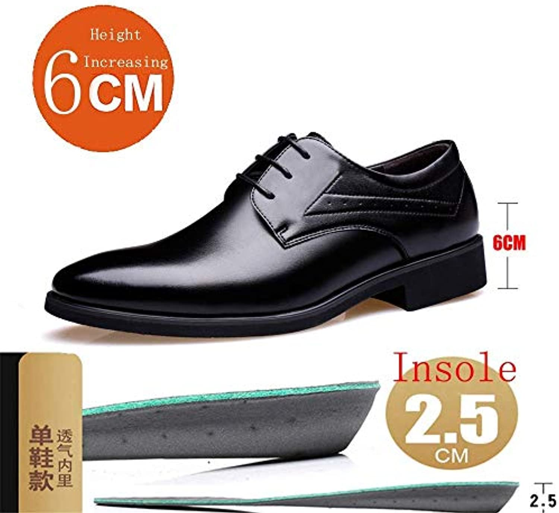 Scarpe Biglietto da Oxford 2018 Uomini, Scarpe Casual Pelle Microfibra Formale 2   (6 Centimetri) Taller Altezza... | Esecuzione squisita  | Scolaro/Ragazze Scarpa