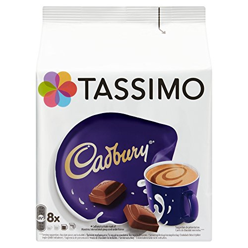 TASSIMO T Discs Pods Coffee Latte Cappuccino Americano Cadbury Hot Chocolate Variety Box Set 56 Cups Drinks ☕☕