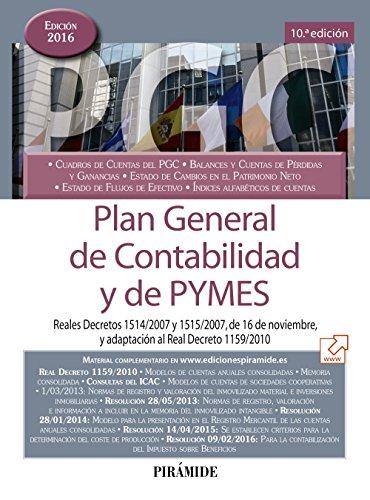 Plan General De Contabilidad Y De PYMES (Economía Y Empresa)