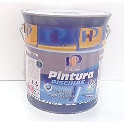 PINTURA DE PISCINA AL DISOLVENTE CLOROCAUCHO 4 L (BLANCA)