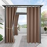 Die besten Homes Vorhänge - Verdunkelungsvorhänge Outdoor Gardine - RYB HOME 1 Stück Bewertungen