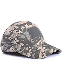 a72e350ea81 Ever Fairy Casquette de Baseball Militaire Army Tactical Camouflage Hat  Peaked Cap pour Wargame Chasse Pêche