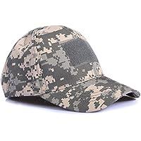 Ever Fairy Sombrero Militar de béisbol Sombrero de Camuflaje táctico Gorra para Wargame Hunting Fishing Juegos al Aire Libre (ACU Digital)