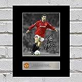Eric Cantona signiert Foto Display Manchester United FC