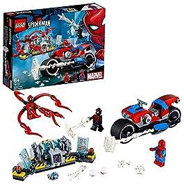 LEGO Super Heroes – Salvataggio sulla Moto di Spider-Man, 76113