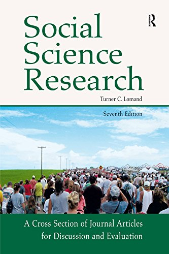 Social Science Research: A Cross Section of Journal Articles for Discussion & Evaluation