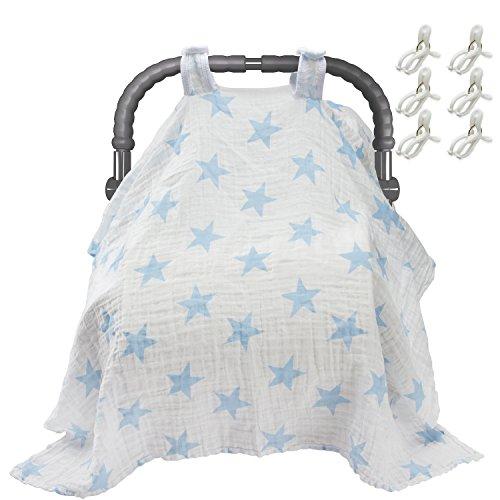 biubee-baby-coprisedili-auto-con-libero-clip-12085-cm-cotone-traspirante-seggiolino-auto-tettuccio