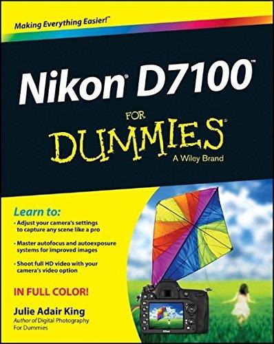 Nikon D7100 For Dummies by Julie Adair King (2013-06-24)