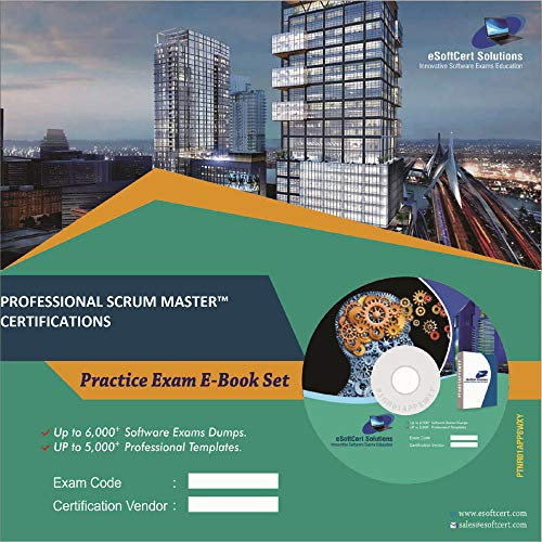 PROFESSIONAL SCRUM MASTERTM CERTIFICATIONS Online Certification Video Learning Success Bundle (DVD)