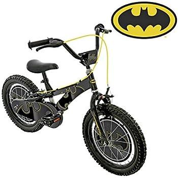 Batman Bicicleta para niños de 16 Pulgadas: Amazon.es: Deportes y ...