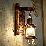 Anbiratlesn Lámpara de pared E27 Vintage para el dormitorio Salón Sala Bar Baño Escalera Corredor...