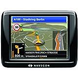 Navigon 20 Easy Navigationssystem (8,9 cm (3,5 Zoll) Display, Europa 20, TMC, Aktiver Fahrspurassistent, Navigon MyRoutes, Fußgänger-Navigation)