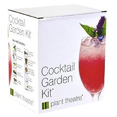 Idea Regalo - Il Kit Piante da Cocktail di Plant Theatre – 6 varietà da coltivare – Un fantastico regalo per gli amanti del giardinaggio che non disdegnano di farsi un bicchierino.