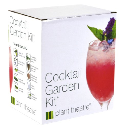 Plant Theatre Cocktail Garden Kit 6-Varieties to Grow