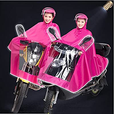 Helmet Raincoat Motorcycle Electric Car Battery Car Poncho Men And Women Adults Thickening Single from Beautiful raincoat