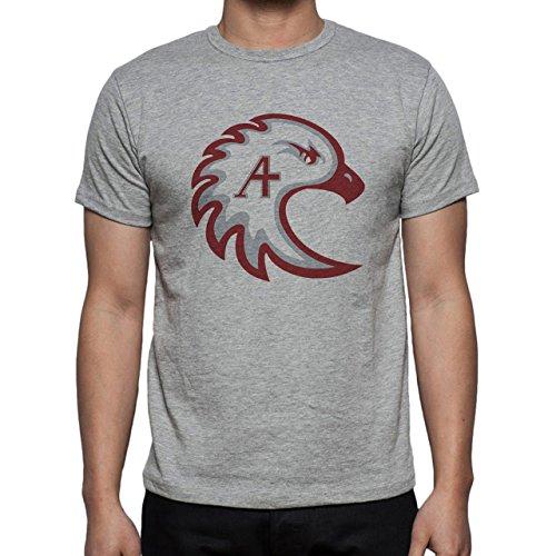 Augsburg College Eagle Color Herren T-Shirt Grau