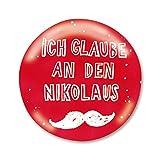 Familie kleiner Tiere Nikolaus Button Adventskalender Füllung Nikolausgeschenk