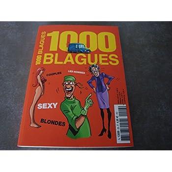 1000 BLAGUES !! 'COUPLES, LES HOMMES, SEXY, BLONDES'