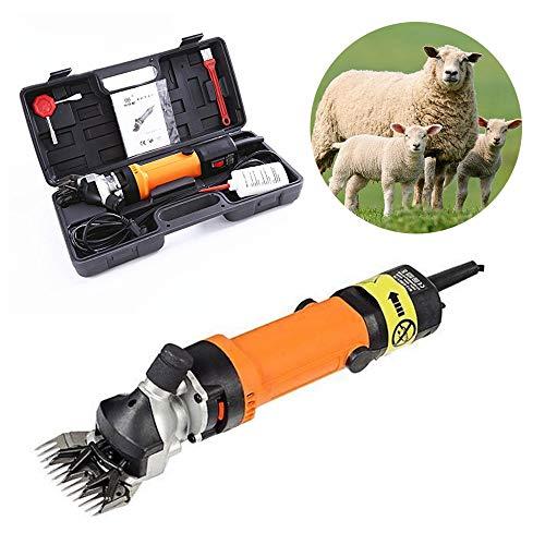 lektrische Goat scheranlage neigen Flexibler Schaft Schaf Haar Trimmer Cutter Wolle Schere Clipper 3600R/min 220V ()