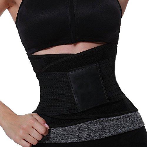 Faja Reductora Adelgazante Aptitud Abdomen Belt para Hombres y Mujeres Cinturón de Fitness Cinturón Quema Grasas para Hacer Deportes y Uso Diario Pwtchenty