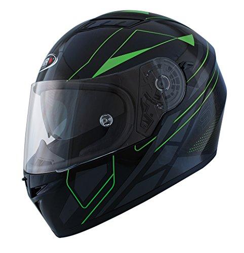 Shiro casco, Elite verde, tamaño XL