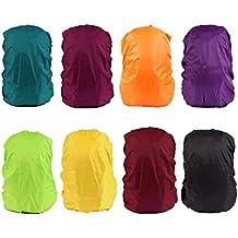 Wasserdicht Regenschutz für Rucksäcke Rucksackschutz Ranzen Regenschutz Rucksackcover Regenüberzug Sicherheitsüberzug Reflektorüberzug für 30L - 40L Rucksack