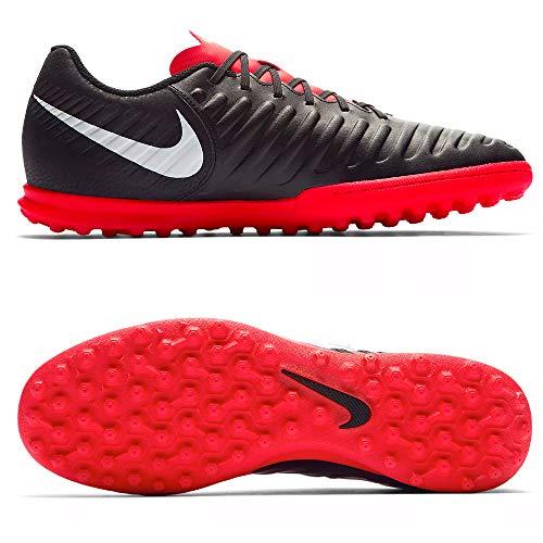 Nike Legend 7 Club Tf Scarpe da Fitness Uomo, Multicolore (Black/Pure Platinum/Lt Crimson 006) 42 EU