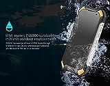Blackview BV6000 – IP68 Android 6.0 Wasserdichte Outdoor-Smartphone 3GB RAM + 32GB mit 2,0 GHz 4,7-Zoll-Gorilla-Glas 3 schwarz - 4