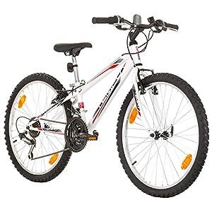 51dm7AGhk6L. SS300 Multibrand, PROBIKE Tempo, 24 Pollici, 279mm, Mountain Bike, 18 velocità, Unisex, Parafango Anteriore + Posteriore…