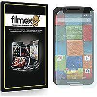 3 x Filmex Pellicola Protettiva Motorola Moto X (2014) 2nd Gen XT1092 - Trasparente, Prima Qualità Giapponese in PET, Kit di installazione, Garanzia a vita