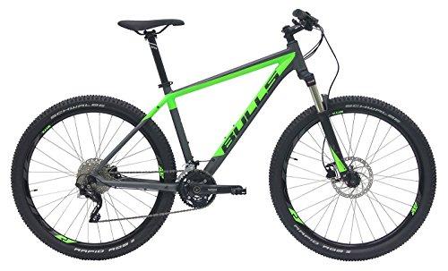 Bulls Herren Mountainbike 27.5 Zoll grau - Fahrrad King Cobra Disc - Shimano Deore XT Shadow Schaltwerk 30 Gänge -