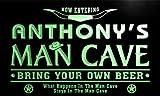 pb022-g Anthony's Man Cave Cowboys Bar Neon Light Sign Barlicht Neonlicht Lichtwerbung