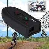 UK : Clear Stock Outdoor V1-10M Bluetooth Motorbike Hiking Helmet Interphone Intercom Headset