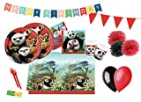 DECORATA PARTY Kit n 54 Addobbi Compleanno Kung Fu Panda