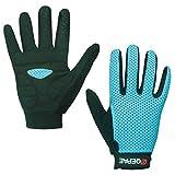 Lerway Anti-Rutsch Outdoor Hände Handschuhe Breath Weich Vollfinger MTB Handschuh Fahrradhandschuhe für Radfahren,Fahrrad Sports (Blau, XL) -