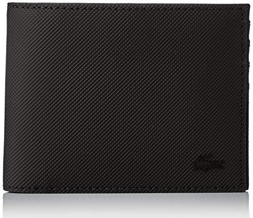 Lacoste Herren Nh2308hc Geldbörse, Schwarz (Black), 2x9x11 Centimeters