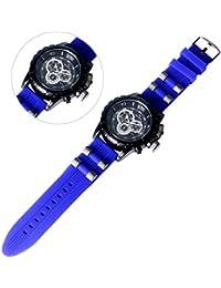 YISUYA Oversized Funda V6Hombres Reloj Militar Original Big Digital Analógico Relogio masculinos relojes deportivos Resistencia a los golpes