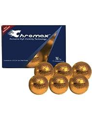 Chromax M1 Golf Balls 6 pack (Orange) by Chromax