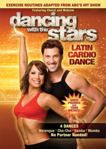 Dancing With The Stars Latin Cardio Dance DVD 4 Dances Merengue /...