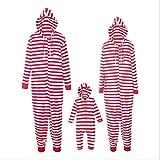 Traje Disfraz de Familiares, Una Pieza Unisex Pijama Adulto Animal Pyjamas Ropa de Dormir Halloween y Navidad-Bebé