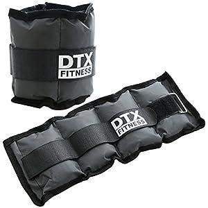 DTX Fitness – Gewichtsmanschetten für Handgelenke & Fußgelenke – Größe wählbar