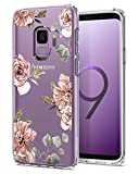 Samsung Galaxy S9 Case, Spigen [Liquid Crystal] Galaxy S9 Case with Light but