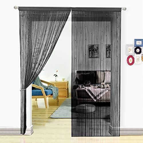 Pantalla cortinas cuerdas HSYLYM cuentas,para