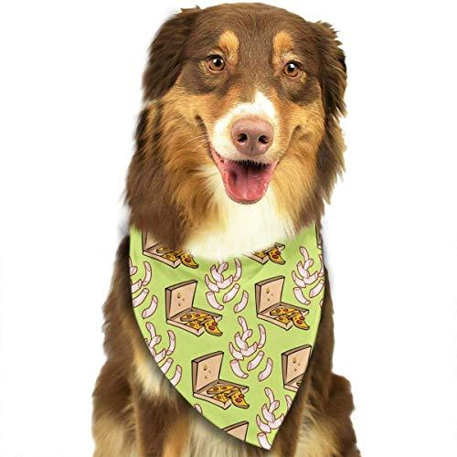 Food Pet Dog Cat Bandanas Triangle Bibs Pet Scarf Dog Neckerchief Headkerchief Pet Accessories ()