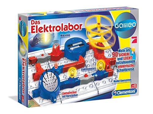 Clementoni 69456.3 – Galileo – Das Elektrolabor