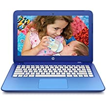 (CERTIFIED REFURBISHED) HP Stream Notebook13-c019tu 13.3-inch Laptop (Celeron N2840/2GB/32GB EMMC/Win 8.1/Intel HD Graphics), Blue