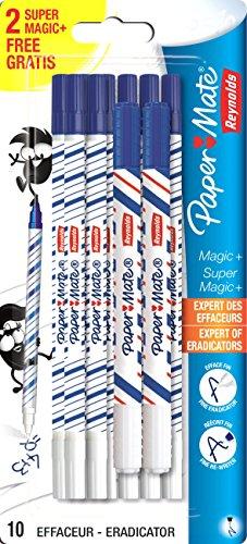 paper-mate-1863013-effaceur-8-magic-2-super-magic-blanc-bleu