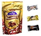 Arabian Delights Assorted Chocodate with Almond Pouch, 500g