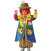 fc22713742c7 Chiber - Costume Clown Pagliaccio Pantomimo da bambino (Taglia 2)